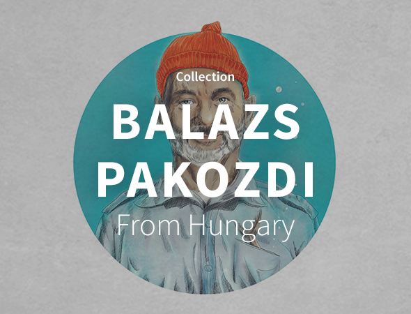 Pour une collection geek, pop culture, marvel, sur l'artshop de Balazs Pakozdi