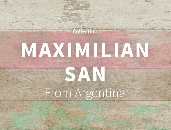 Les motifs colorés avec des fleurs c'est sur le shop de Maximilian San !