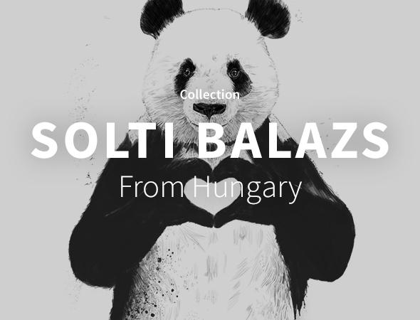 Allant du lion hipster, au panda ou encore au tigre indien, les produits Solti Balazs sauront ravir les fans d'animaux