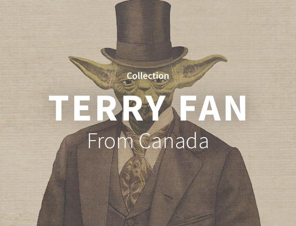 Fan de Star Wars, de Yoda, de Dark Vador, ou d'éléphant mignon, cette collection de Terry Fan a ce qu'il faut pour vous intéresser