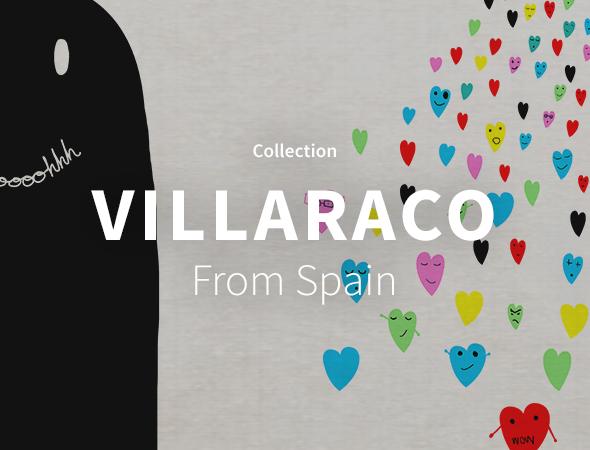 Design étrange, varié avec Javier Villaraco