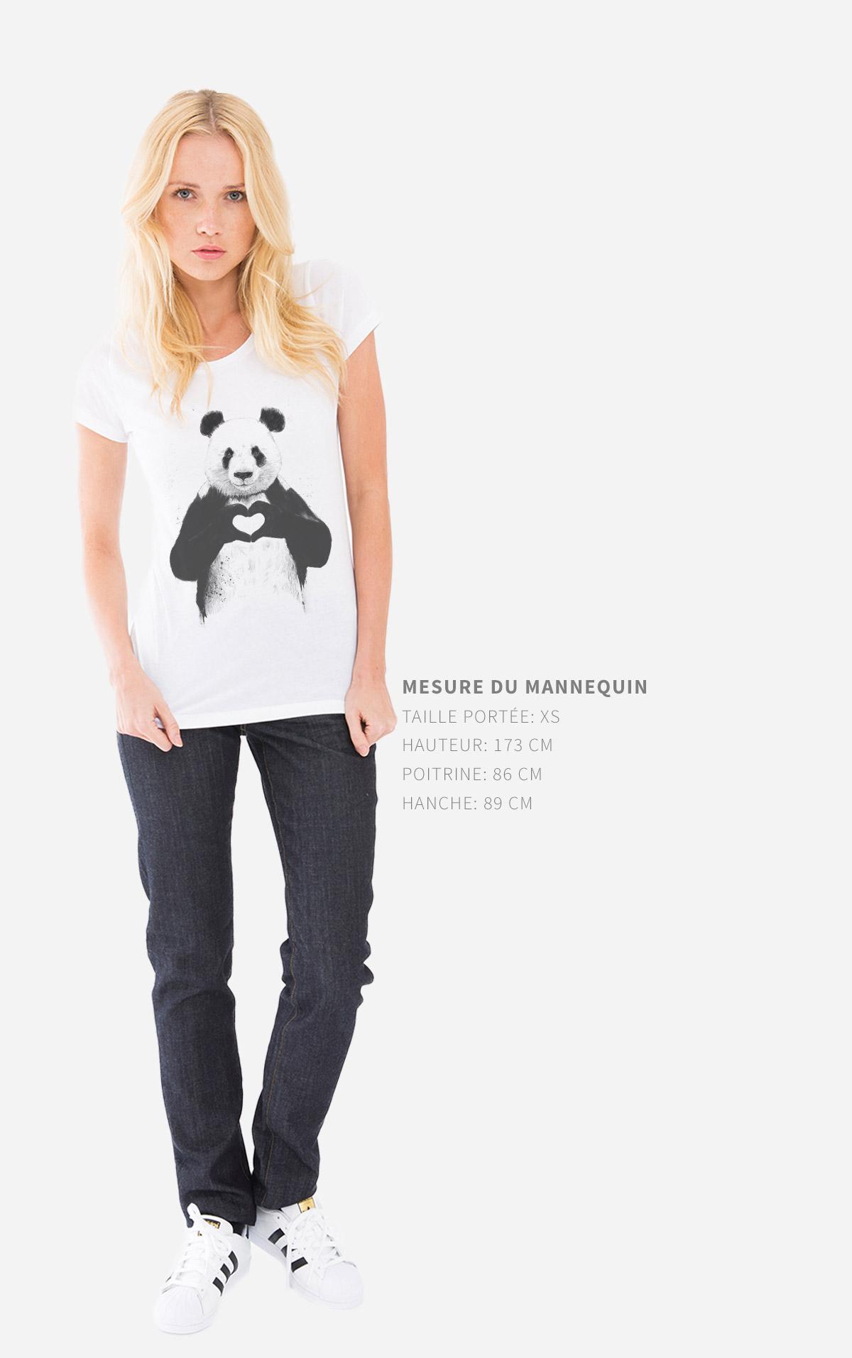 Guides des tailles T-Shirt Femme