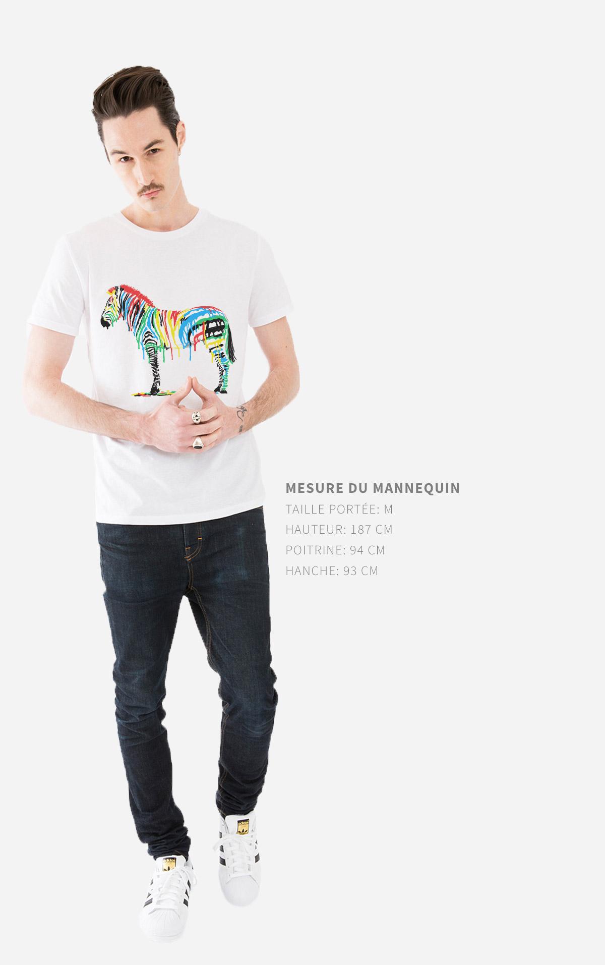 Guides des tailles T-Shirt Homme