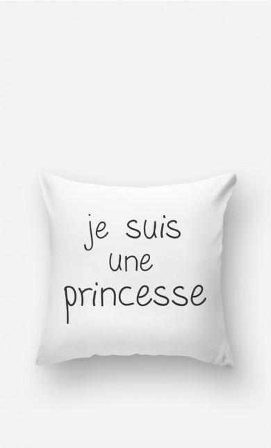 Coussin Je Suis Une Princesse