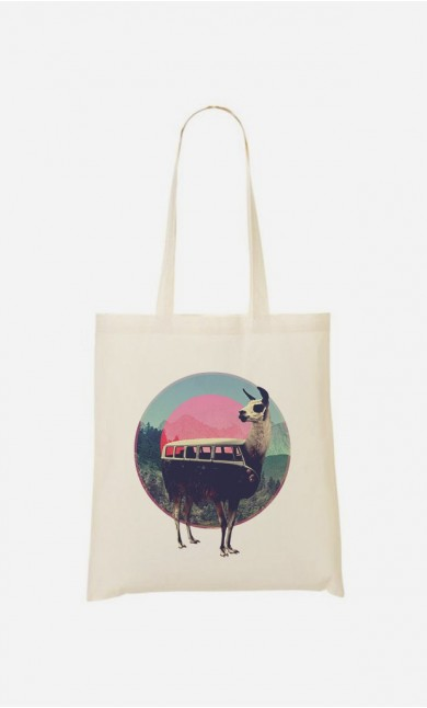 Tote Bag Combi Llama