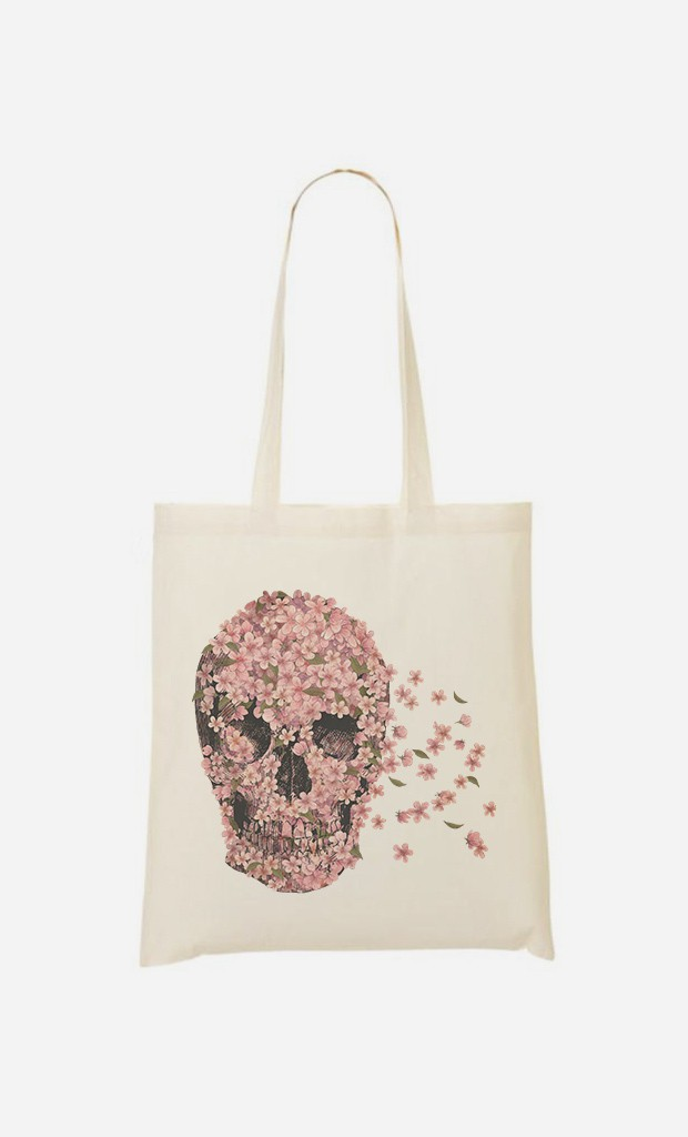 "Tote Bag Décalé ""Beautiful Death"""