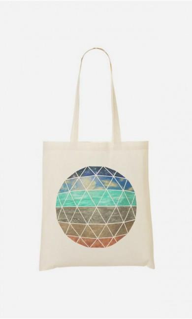 Tote Bag Elemental Geodesic