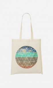 Tote Bag Elemental Geodesic