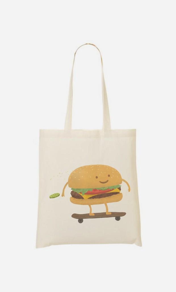 Tote Bag Fast Food