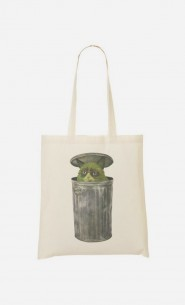 Tote Bag Grouchy Cat
