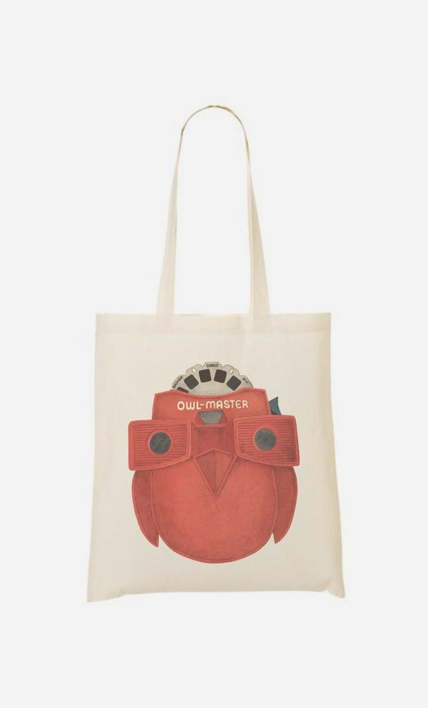 Tote Bag Owl Master