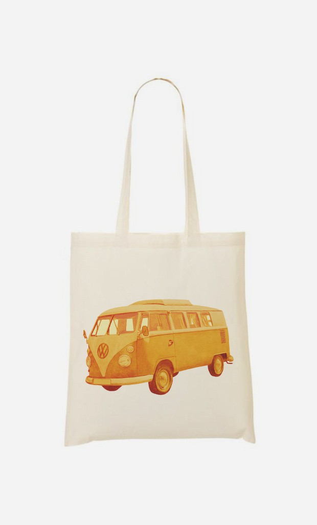 Tote Bag Summer Ride