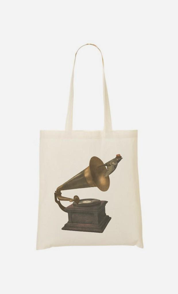 Tote Bag Vintage Songbird