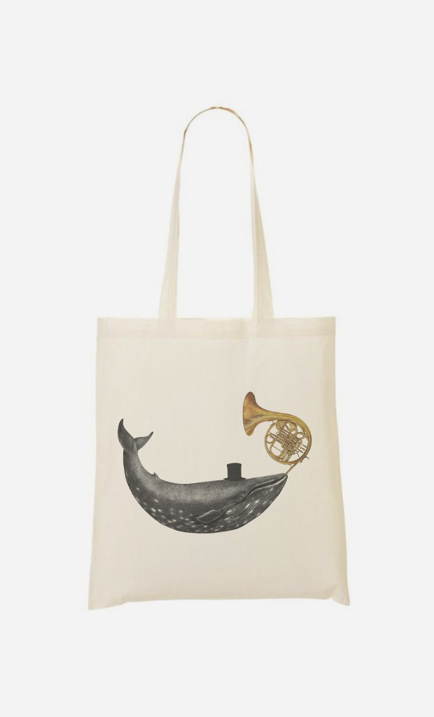Tote Bag Whale Song