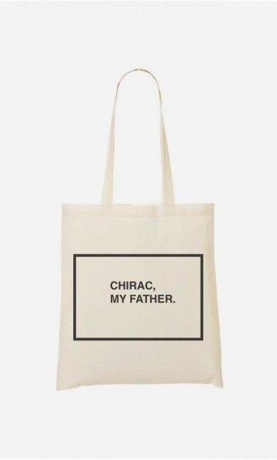 Tote Bag Chirac My Father