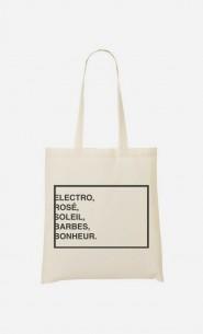 Tote Bag Electro Rosé