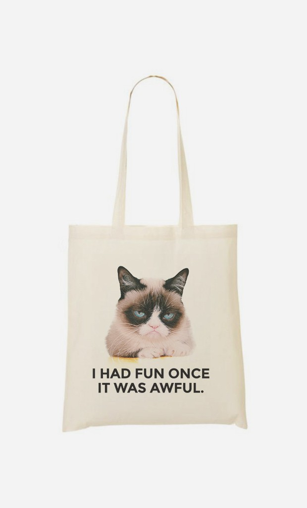 Tote Bag Grumpy