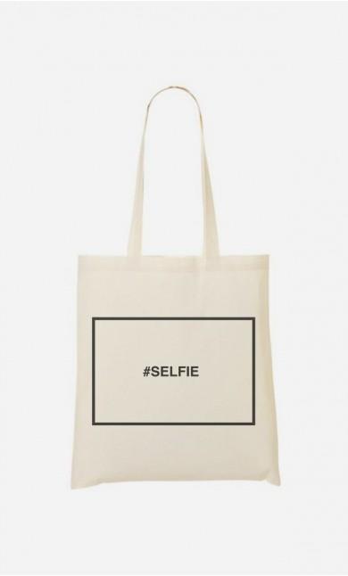 Tote Bag Hashtag Selfie