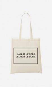 Tote Bag La Nuit et Le Jour