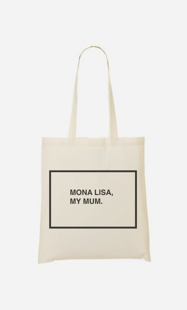 Tote Bag Mona Lisa My Mum