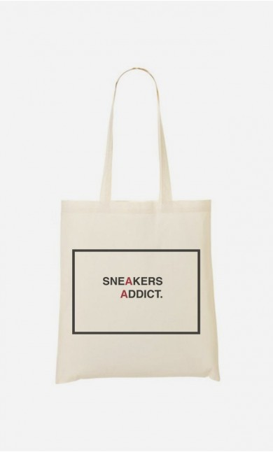 Tote Bag Sneakers Addict