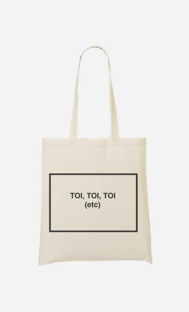 Tote Bag Tendance Toi Toi Toi