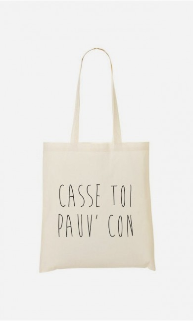 Tote Bag Casse Toi