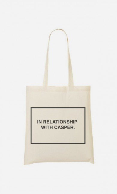 Tote Bag With Casper