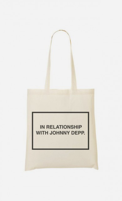 Tote Bag With Johnny Depp