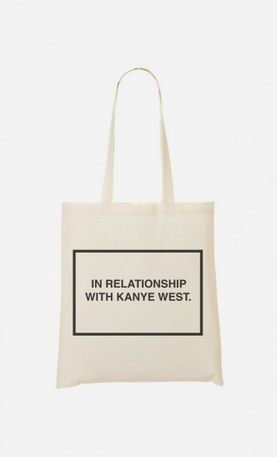Tote Bag With Kanye West