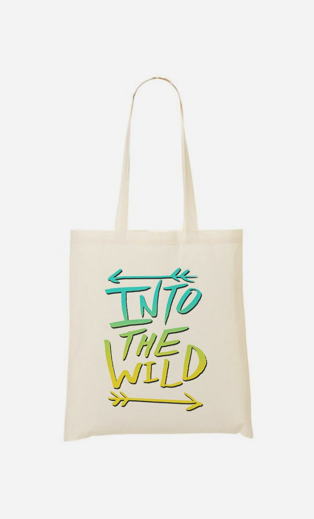 Tote Bag Into The Wild