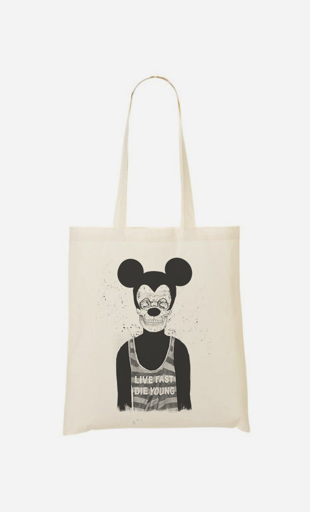 Tote Bag Dead Mouse