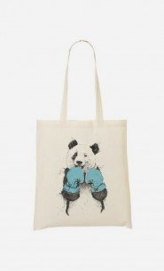 "Tote Bag Fun ""The Winner Panda"""