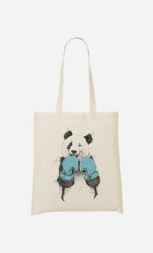 Tote Bag Fun The Winner Panda