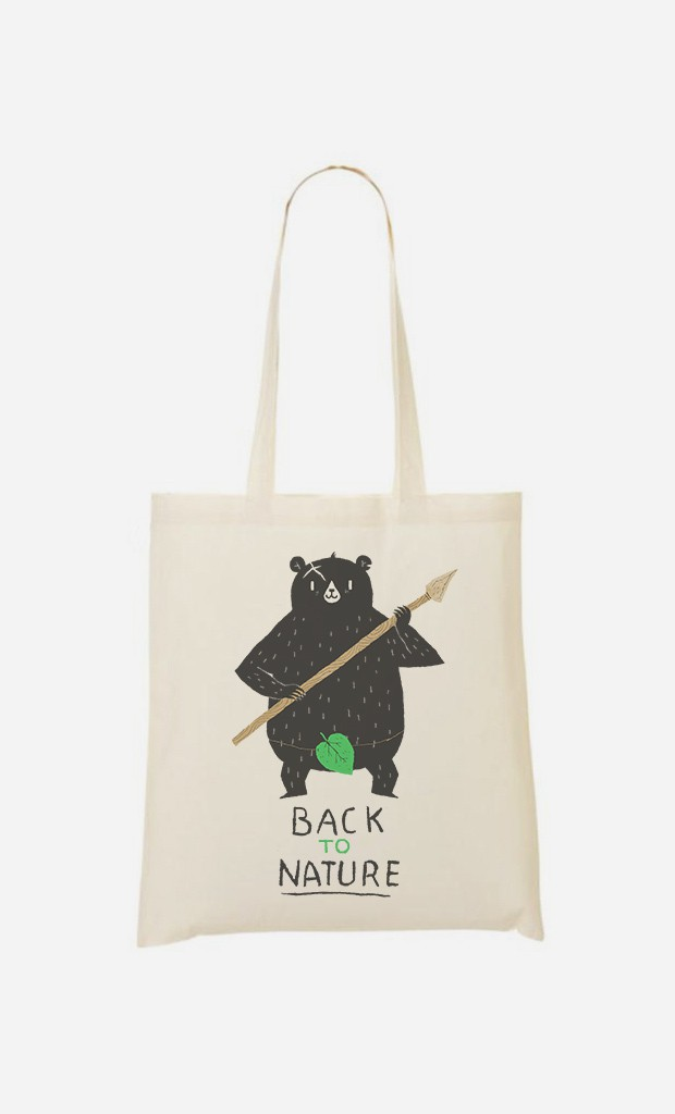 Tote Bag Back to Nature