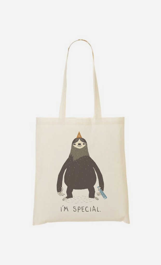 Tote Bag Sloth Light