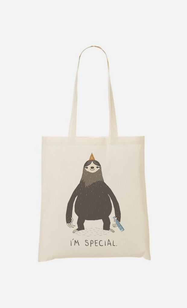 Tote Bag Sloth Light