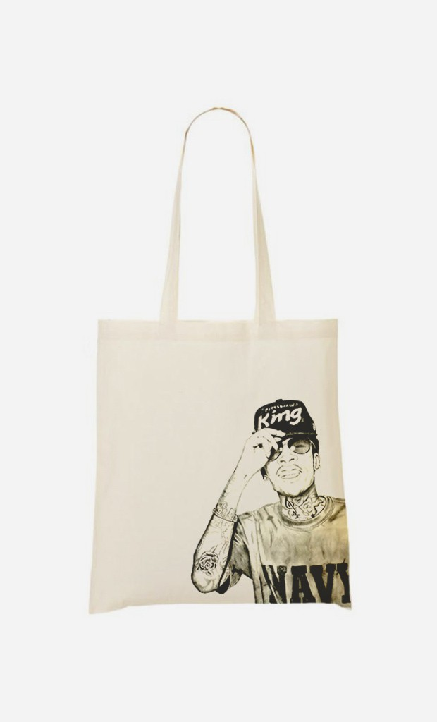 Tote Bag Wiz Khalifa Navy