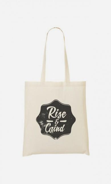 Tote Bag Rise & Grind