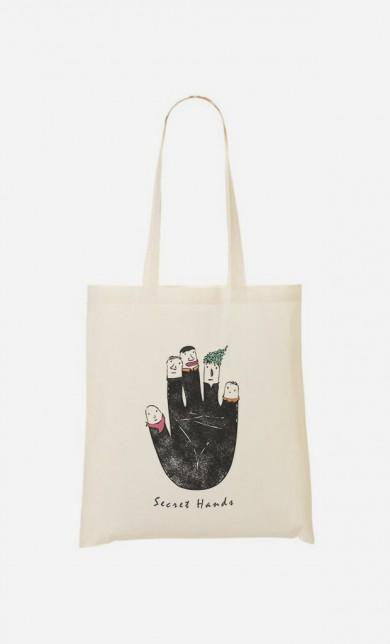 Tote Bag Secret Hands