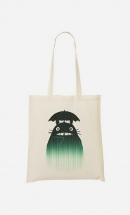 Tote Bag Under The Rain