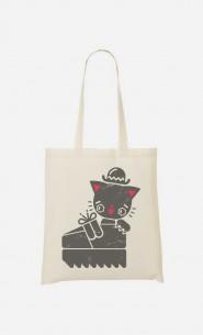 Tote Bag Creeper Cat
