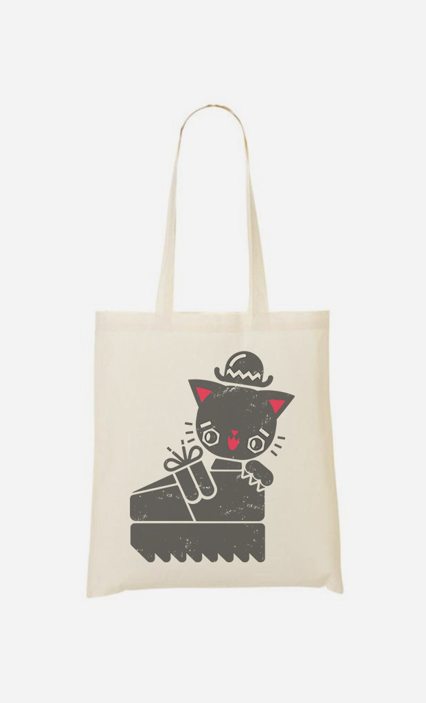 Tote Bag Creeper Cat