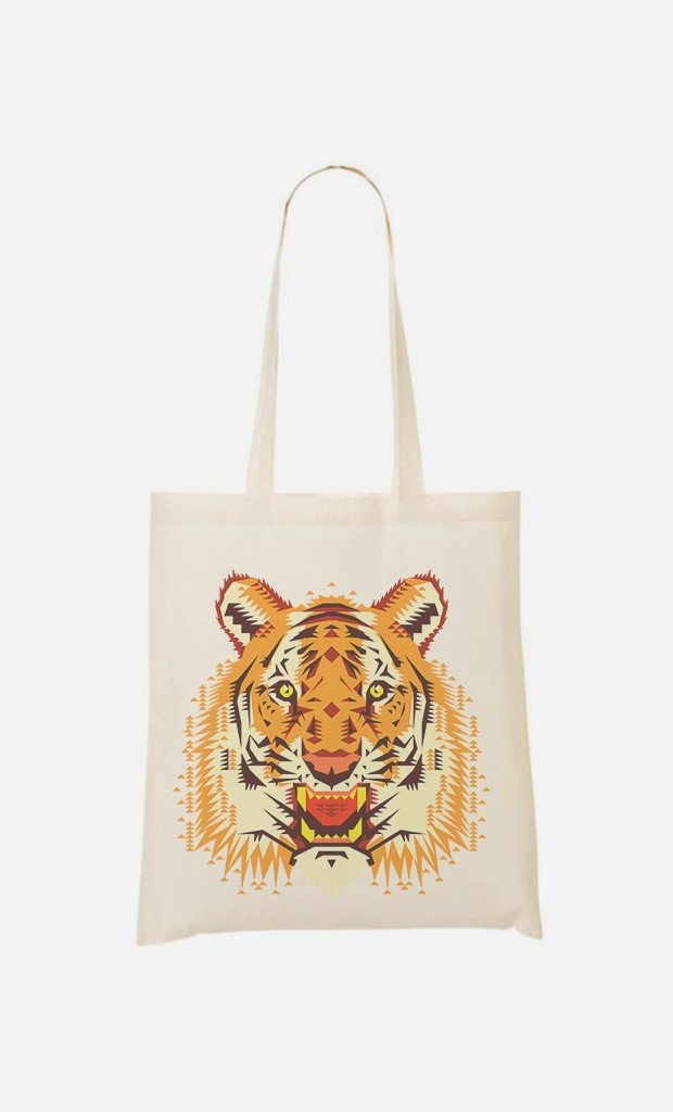 Tote Bag Geo Tiger
