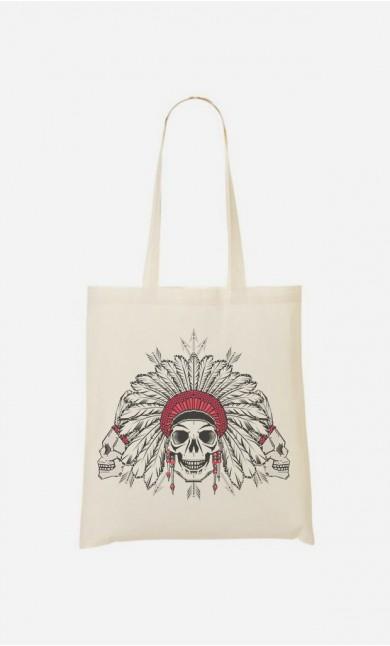 Tote Bag Native Skull