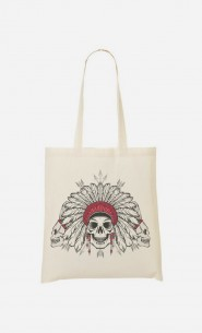 Tote Bag Native Skull