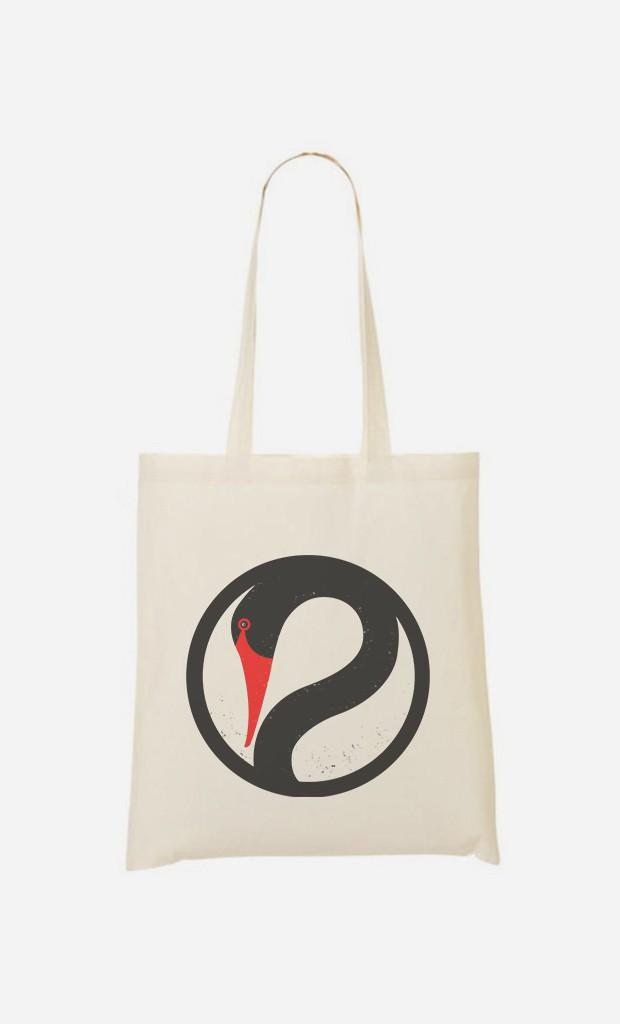 Tote Bag Peaceful Swan