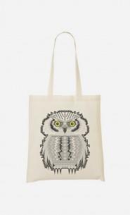Tote Bag Snow Owl