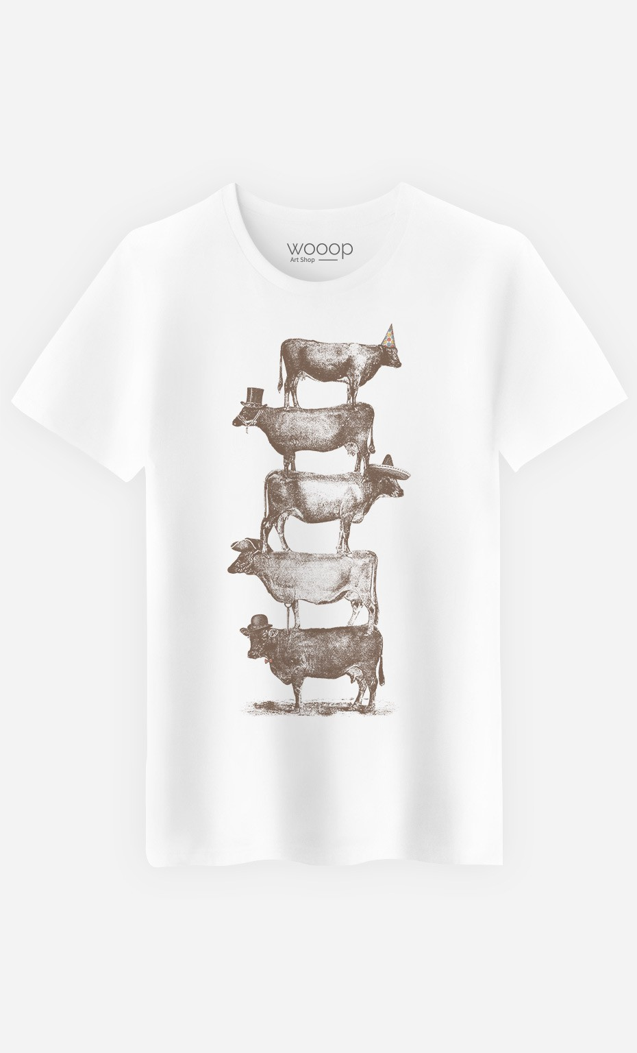 T-Shirt Homme Cow Cow Nuts