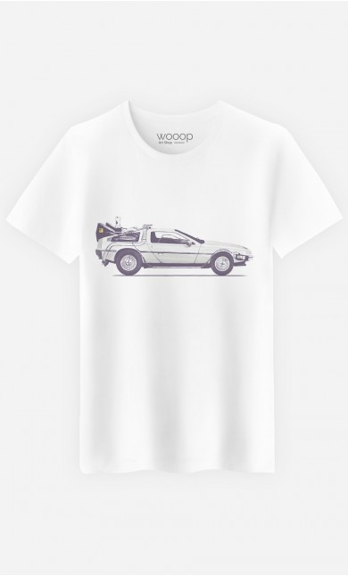 T-Shirt Homme Delorean